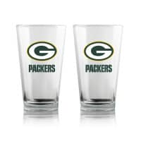 Green Bay Packers Highball NFL Pint Glas Set (2 Stk.)