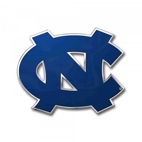 North Carolina Tar Heels Aluminium Color NCAA Team Emblem