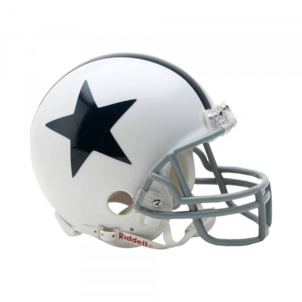 Dallas Cowboys NFL Throwback Mini Helmet (1960-63)