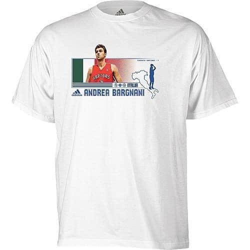 Andrea Bargnani Toronto Raptors Countrymen NBA T-Shirt