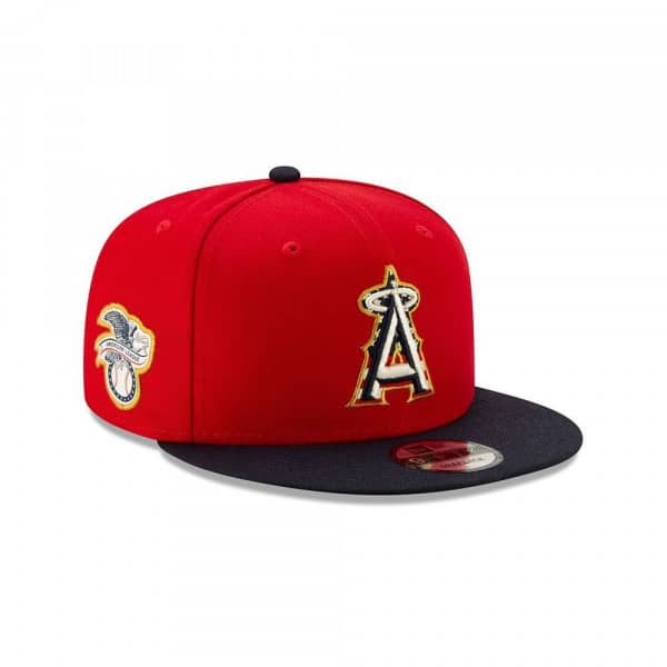 Los Angeles Angels 4th of July 2019 MLB 9FIFTY Snapback Cap