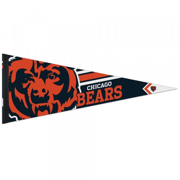 Chicago Bears Big Logo Premium Football NFL Wimpel
