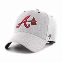 Atlanta Braves Storm Cloud MVP Adjustable MLB Cap