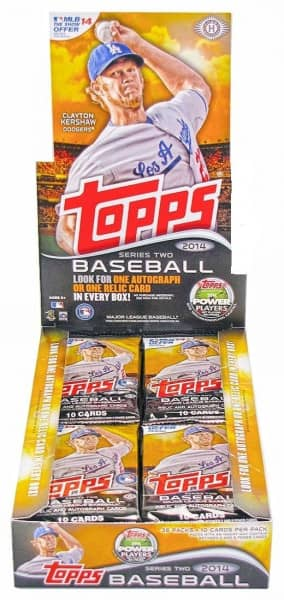2014 Topps Series 2 Baseball Hobby Box MLB