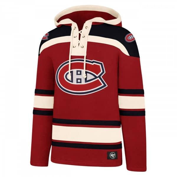 Montreal Canadiens Lacer Jersey Hoodie NHL Sweatshirt