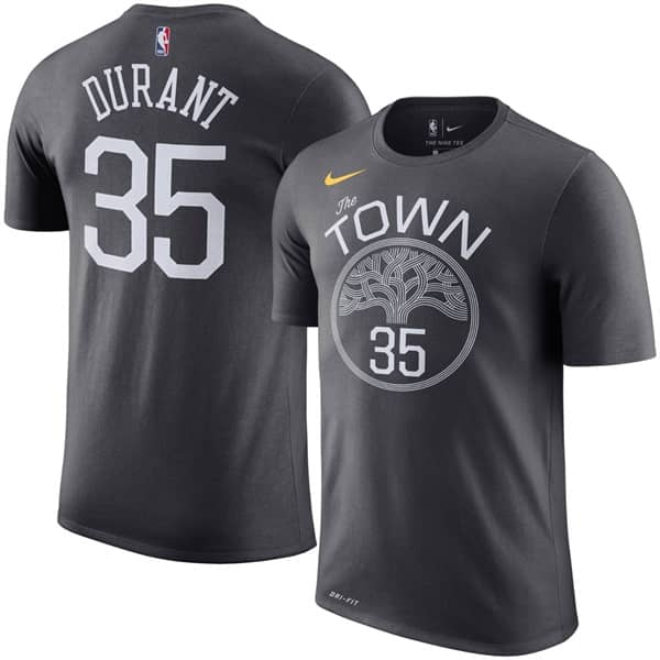 Nike Kevin Durant  35 Golden State Warriors The Town Player NBA T ... ab4fad8f7