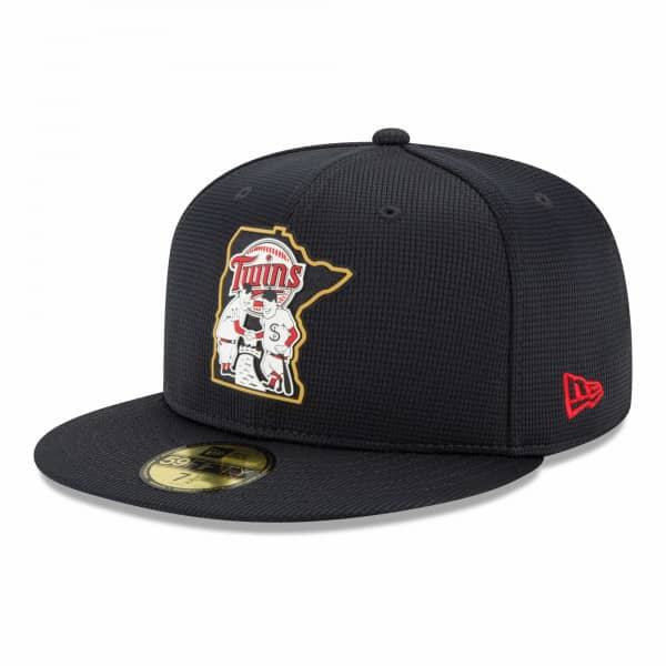 Minnesota Twins 2021 MLB Authentic Clubhouse New Era 59FIFTY Fitted Cap