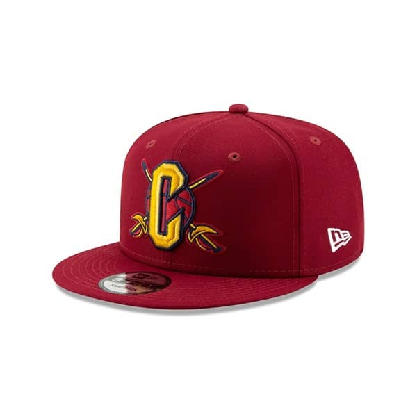 Cleveland Cavaliers 2019 NBA Back Half 59FIFTY Fitted Cap