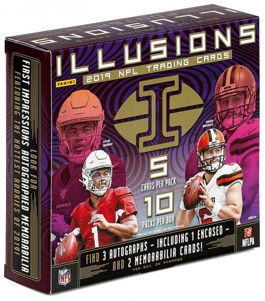 2019 Panini Illusions Football Hobby Box NFL