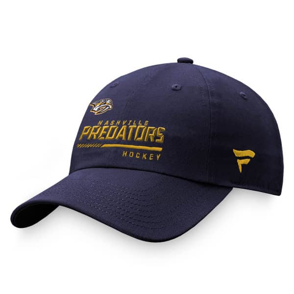 Nashville Predators 2020/21 NHL Authentic Pro Locker Room Fanatics Adjustable Cap