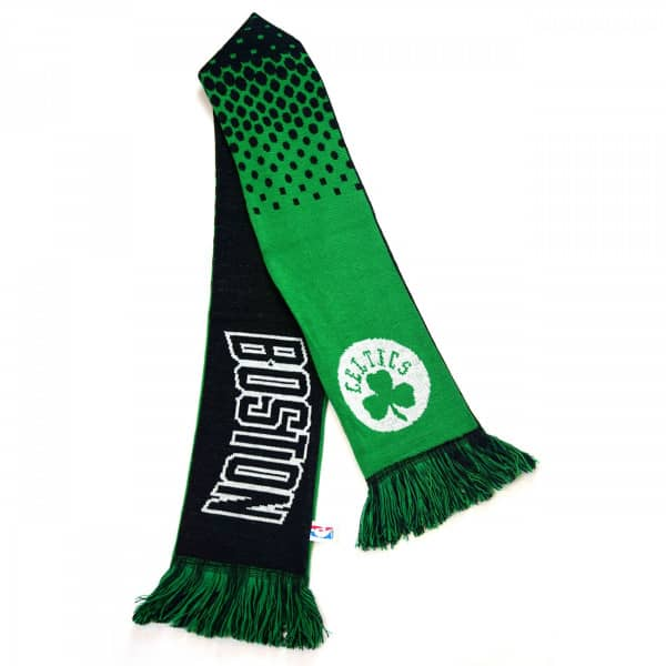 sports shoes c6725 f9e86 Boston Celtics Fade NBA Scarf