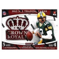 2015 Panini Crown Royale Football Hobby Box NFL