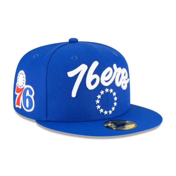 Philadelphia 76ers Alternate Authentic 2020 NBA Draft New Era 59FIFTY Fitted Cap