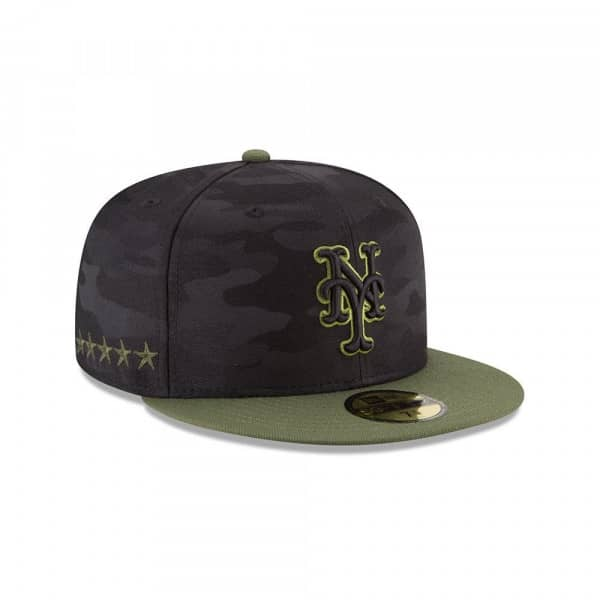 New York Mets 2018 Memorial Day 59FIFTY Fitted MLB Cap