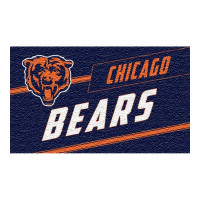 Chicago Bears Punch Print NFL Kokos Fußmatte