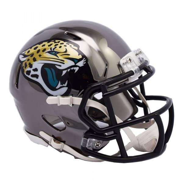 Jacksonville Jaguars NFL Chrome Alternate Speed Mini Helm