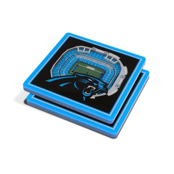 Carolina Panthers YouTheFan 3D NFL Stadium Untersetzer (2 Stück)