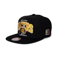 best website 9c2c4 62320 Indiana Pacers Arch HWC Patch Snapback NBA Cap Schwarz
