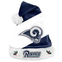 Los Angeles Rams Basic NFL Weihnachtsmannmütze
