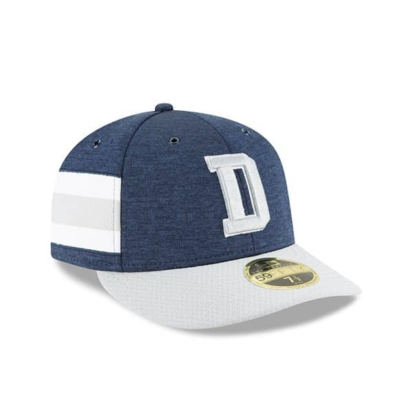 354accabd5e New Era Dallas Cowboys 2018 NFL Sideline Low Profile 59FIFTY Cap Home