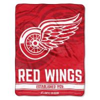 Detroit Red Wings Breakaway Super Plush NHL Decke