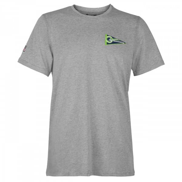 online store eda90 a37bd Seattle Seahawks Pennant NFL T-Shirt