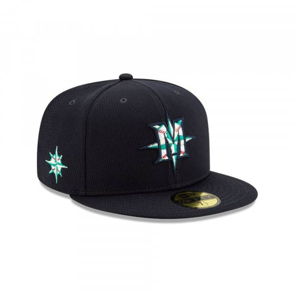 Seattle Mariners 2020 Authentic Spring Training 59FIFTY Fitted MLB Cap