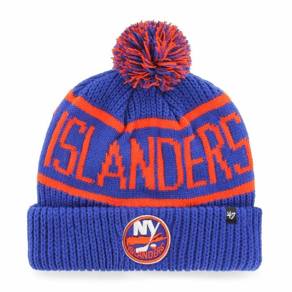 New York Islanders Wraparound NHL Wintermütze Blau