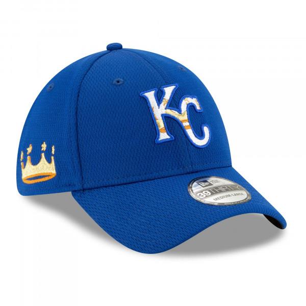 Kansas City Royals 2021 MLB Batting Practice New Era 39THIRTY Flex Cap
