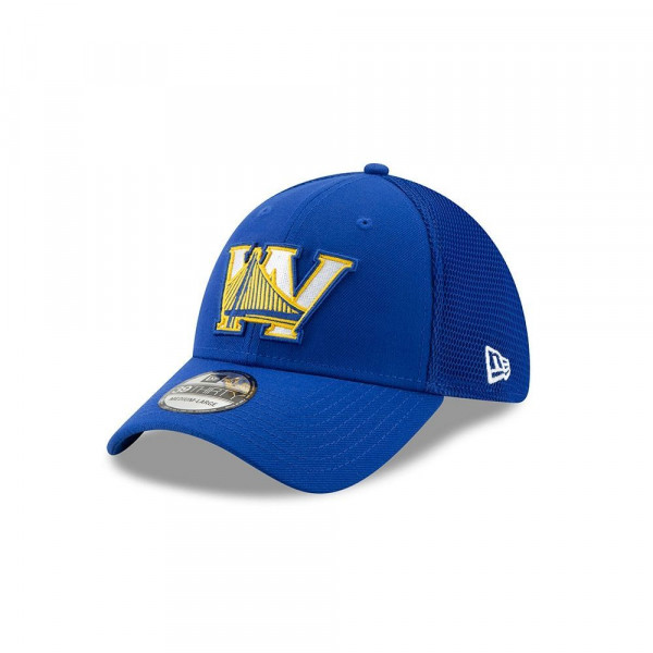 Golden State Warriors 2019 NBA Back Half 39THIRTY Stretch Fit Cap