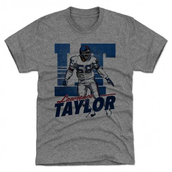 Lawrence Taylor New York Throwback LT NFL T-Shirt