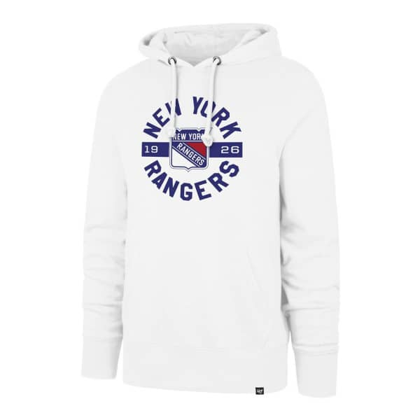 New York Rangers Round About NHL Hoodie Sweatshirt