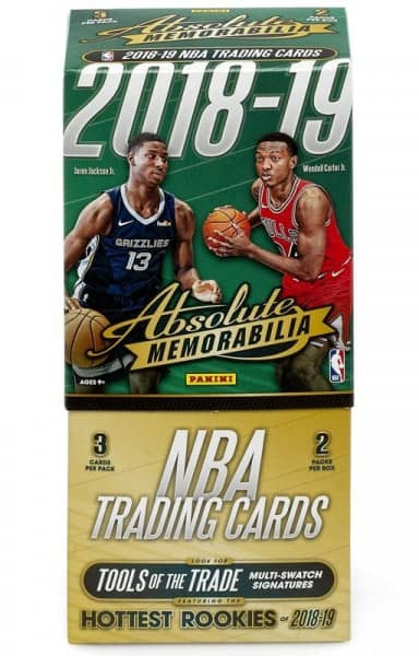 2018/19 Panini Absolute Memorabilia Basketball Hobby Box NBA