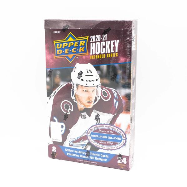 2020/21 Upper Deck Extended Series Hockey Hobby Box NHL
