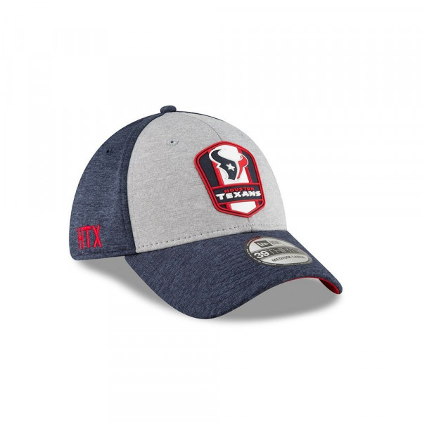 the best attitude 33e72 140e5 New Era Houston Texans 2018 NFL Sideline 39THIRTY Flex Cap Road   TAASS.com  Fan Shop