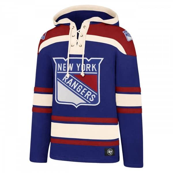 New York Rangers Lacer Jersey Hoodie NHL Sweatshirt