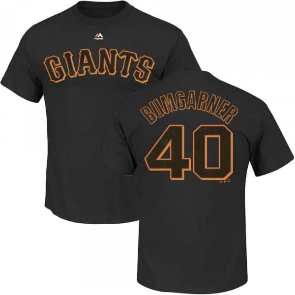 Madison Bumgarner #40 San Francisco Giants Player MLB T-Shirt