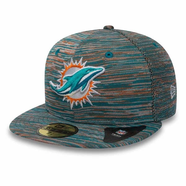 cheap for discount 406f1 c72fe Miami Dolphins Engineered 59FIFTY Fitted NFL Cap