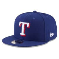 Texas Rangers Basic Logo New Era 9FIFTY MLB Snapback Cap