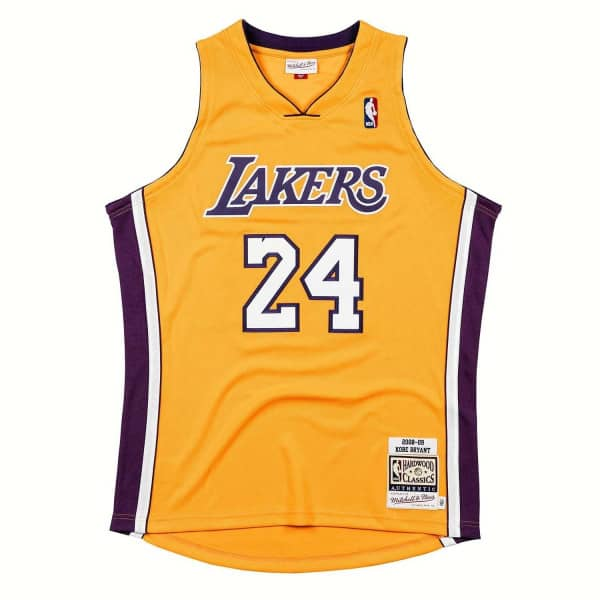 Kobe Bryant #24 Los Angeles Lakers Mitchell & Ness 2008-09 Authentic NBA Trikot