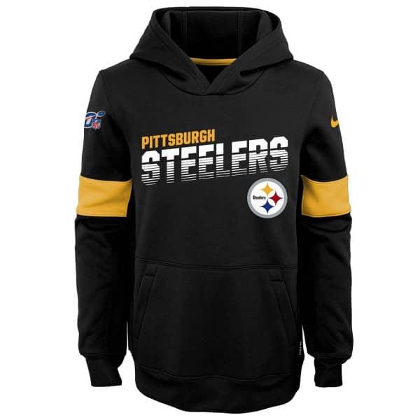 Pittsburgh Steelers 2019 NFL Sideline Therma Hoodie (KINDER)