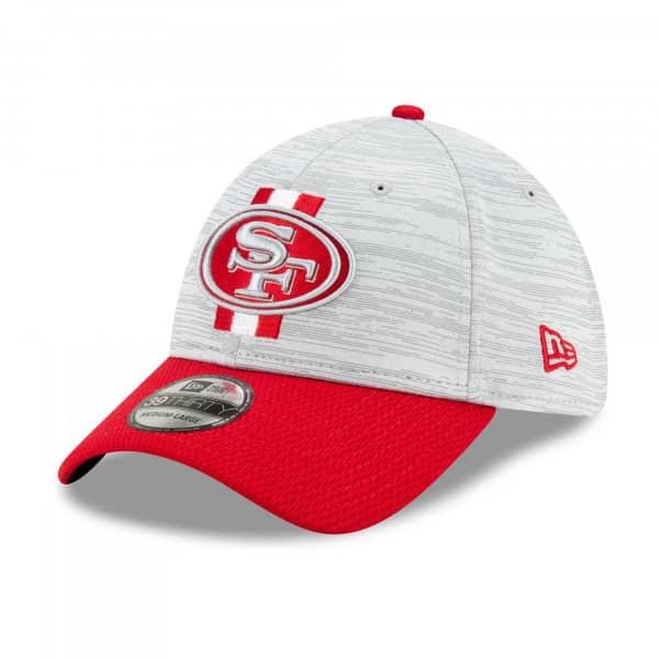 San Francisco 49ers 2021 NFL Offical Training New Era 39THIRTY Flex Fit Cap
