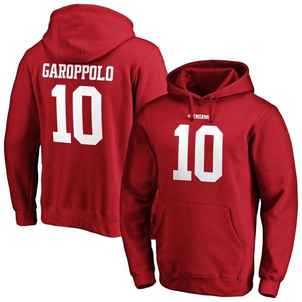 Jimmy Garoppolo #10 San Francisco 49ers Fanatics Player NFL Hoodie