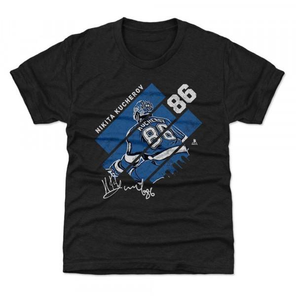 Nikita Kucherov Tampa Bay Stripes B NHL T-Shirt