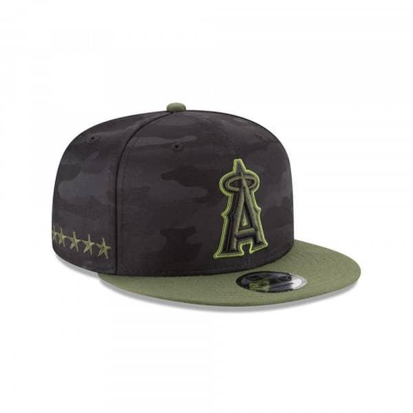 Los Angeles Angels 2018 Memorial Day 9FIFTY Snapback MLB Cap