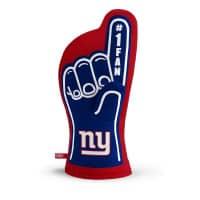 New York Giants #1 Fan NFL Ofenhandschuh