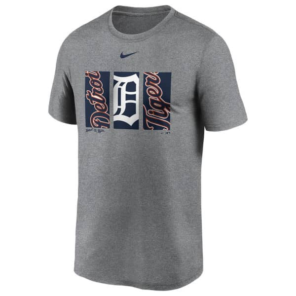 Detroit Tigers Triptych Nike Legend MLB T-Shirt