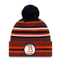 Chicago Bears 2019 NFL Sideline Sport Knit Wintermütze Home B