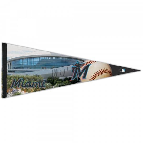 Miami Marlins Stadium Premium MLB Wimpel