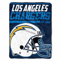 Los Angeles Chargers Super Plush NFL Decke
